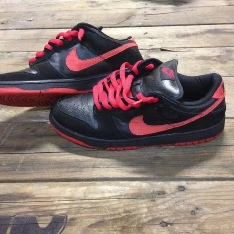 new product 054a0 95cc4  nawh. 4 years ago. Oakland, United States. Nike Dunk Low Pro SB Black   True Red Size 11 ...