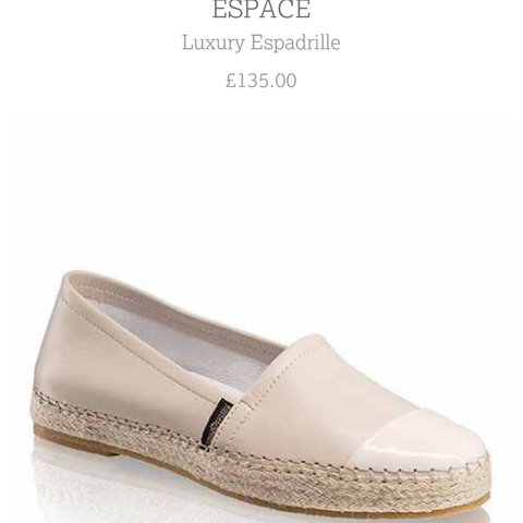 244541957952 Russell   bromley ESPACE espadrilles. Worn twice