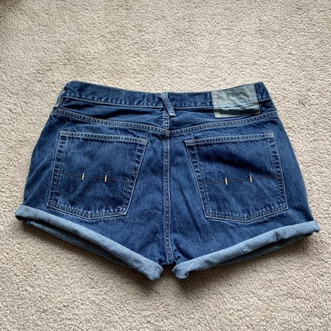 ba4fab3b46 @paytonsprettypicks. 2 months ago. Valdese, United States. Polo Ralph Lauren  Vintage Shorts Super cute and hand cut from men's jeans!