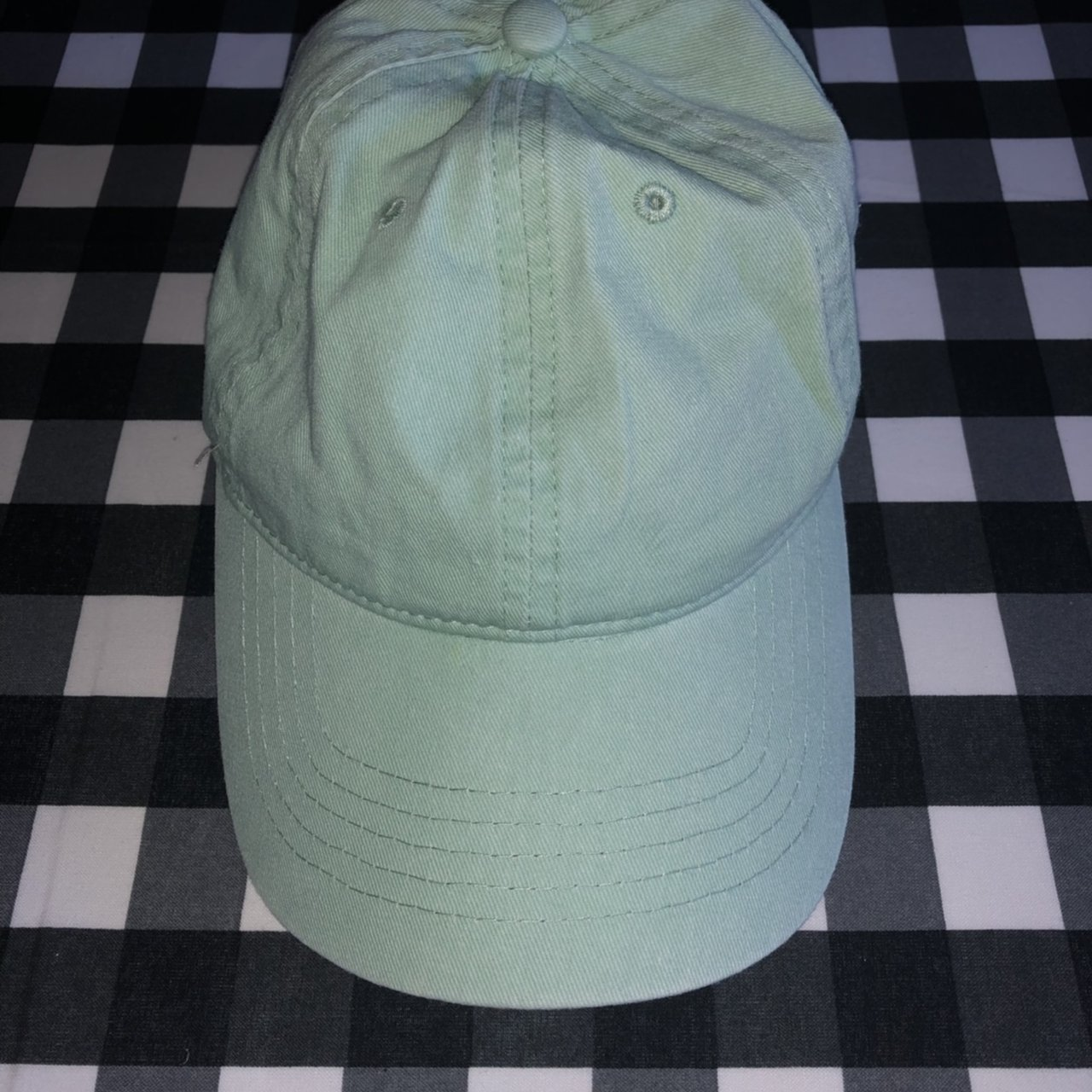 abf912dd2d7620 🎉BRAND NEW (without tags)🎉 Mint green baseball cap with - Depop