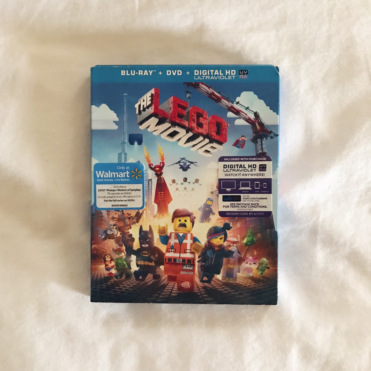 The LEGO Movie - Blu-Ray & DVD (Digital Code has    - Depop