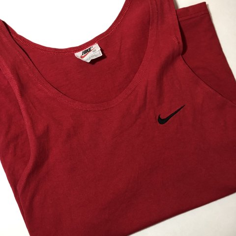 premium selection ecbe6 f3431  oconnocd. 5 hours ago. Utica, United States. VINTAGE NIKE TANK TOP MUSCLE SHIRT  RED XXL