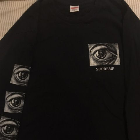 5d7a243fb5a6 7/10 Supreme MC Escher. SIZE XL. No flaws but has been worn - Depop