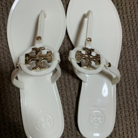 0a8eb42448ae Tory Burch mini Miller sandals only worn ONCE to try on in 6 - Depop