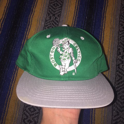 68d7c575b92c0 🏀 Vintage 90 s Deadstock Boston Celtics Hat ☘ Hat is new - Depop
