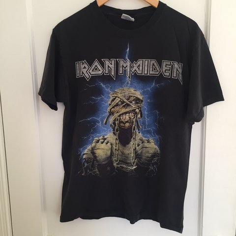 2384988d0 @rambotadinho. 14 days ago. Washington, United States. Vintage IRON MAIDEN  powerslave t-shirt.