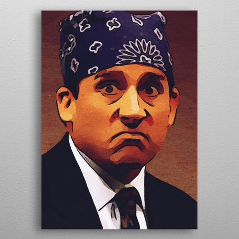 fb694c69d @taoteching. 5 months ago. United States. Prison Mike Poster,Michael Scott  Print,The Office ...