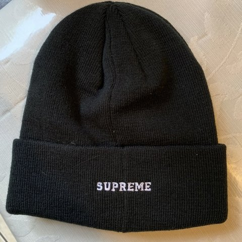 a7a0681d5def6 Supreme x Champion beanie F W 18 Authentic - Depop