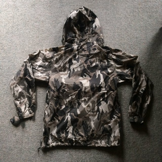 Men s waterproof urban camo coat pull on. Says size XSmall a - Depop a7b4cd0d2