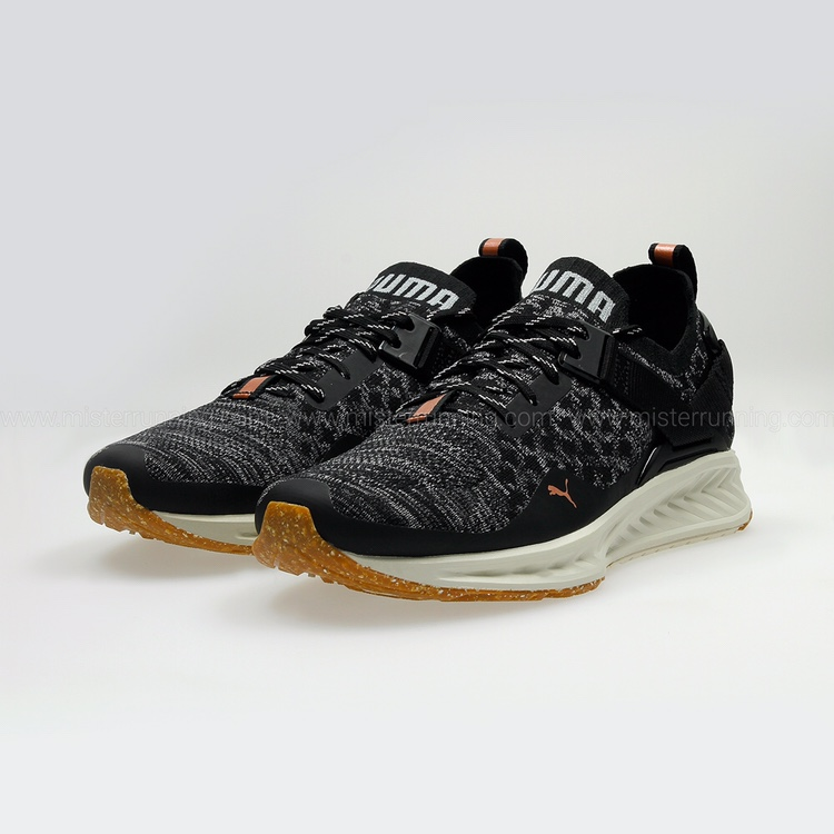 huge selection of b937c 0f7ea Puma Ignite evoKNIT low training shoes Size 5 Worn once - Depop