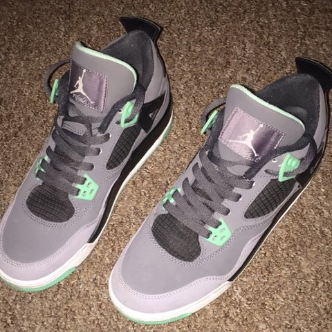 brand new 308a5 0c4ef  chloehick. 3 years ago. Denton, UK. Jordan 4s green glow size 6 ...
