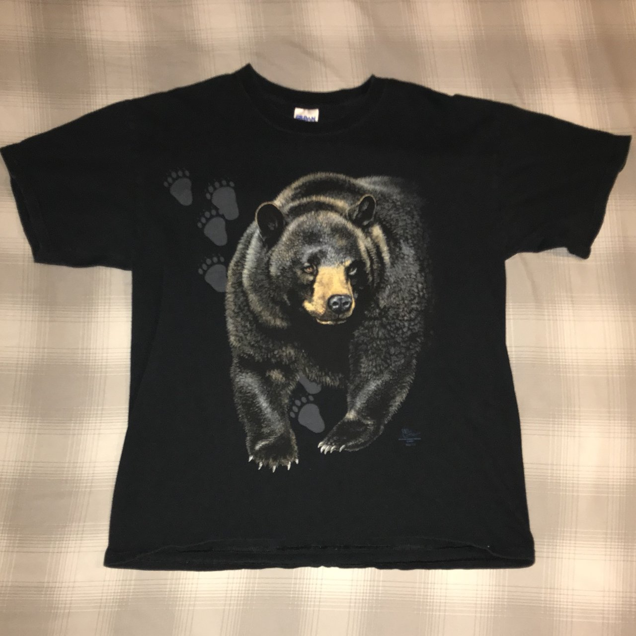 13b7a6b1c Bear Graphic t-Shirt This is