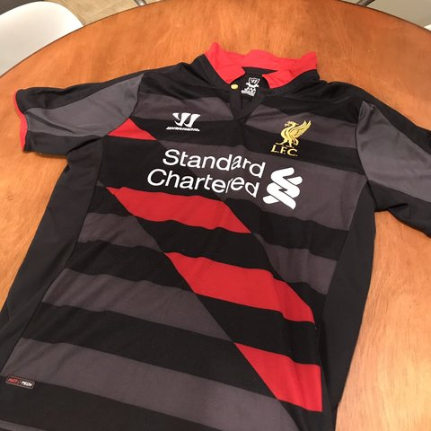 5300edfd75b Warrior Liverpool 2014-15 third kit. Size M. Great No or - Depop