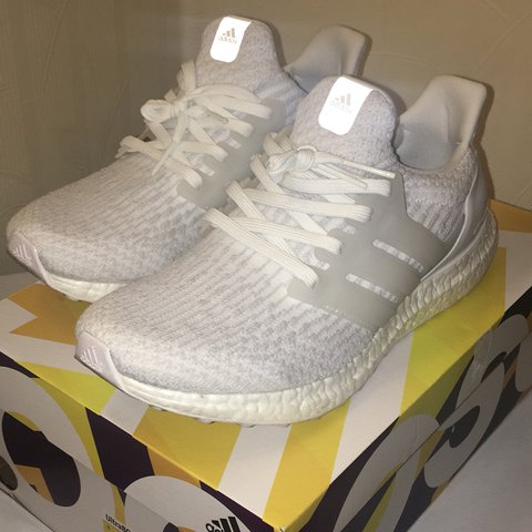 6e26baaf44341 Adidas Ultra Boost 3.0 Triple White. Size UK Men s 7.5