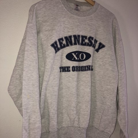 a43d04e7d Hennessy XO CREWNECK size large So dope For all the henny - Depop