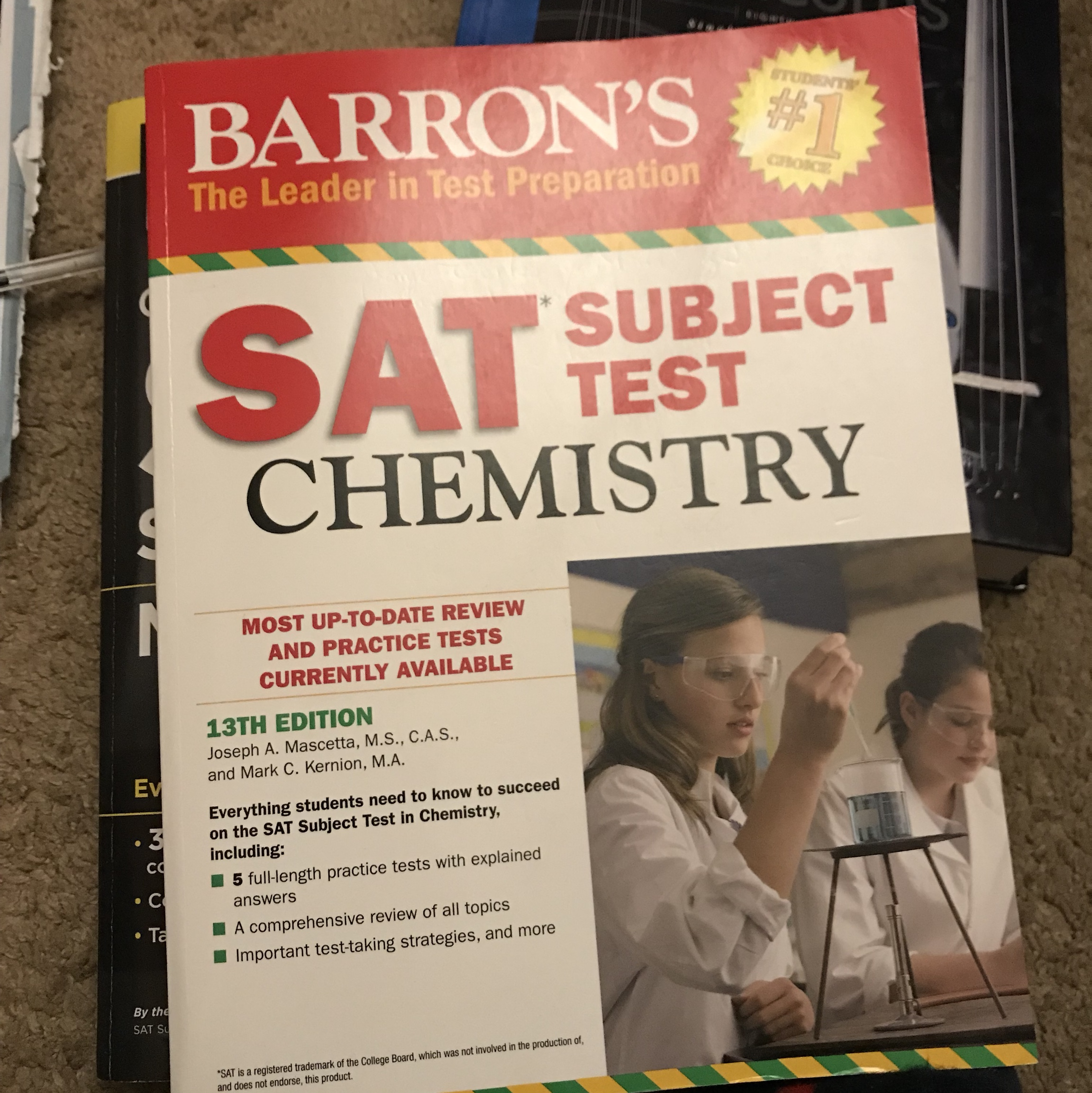 Never used :( but great studying book #sat #study    - Depop