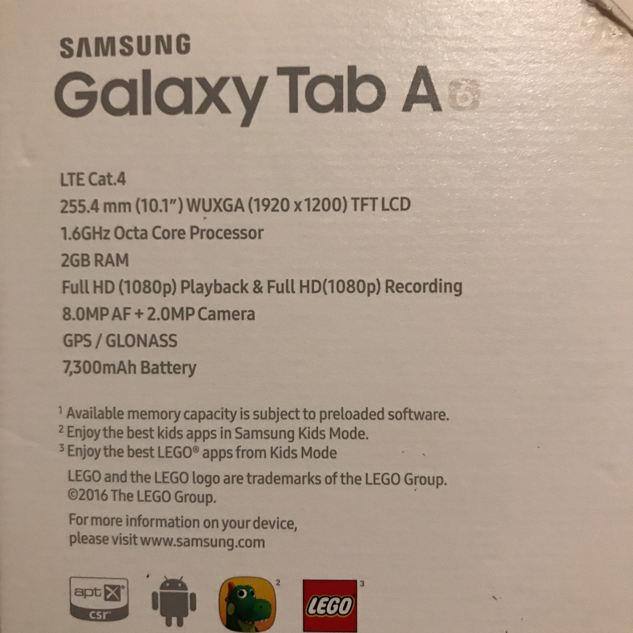 Samsung Galaxy Tab A6 Rrp £179 Comes with charger    - Depop