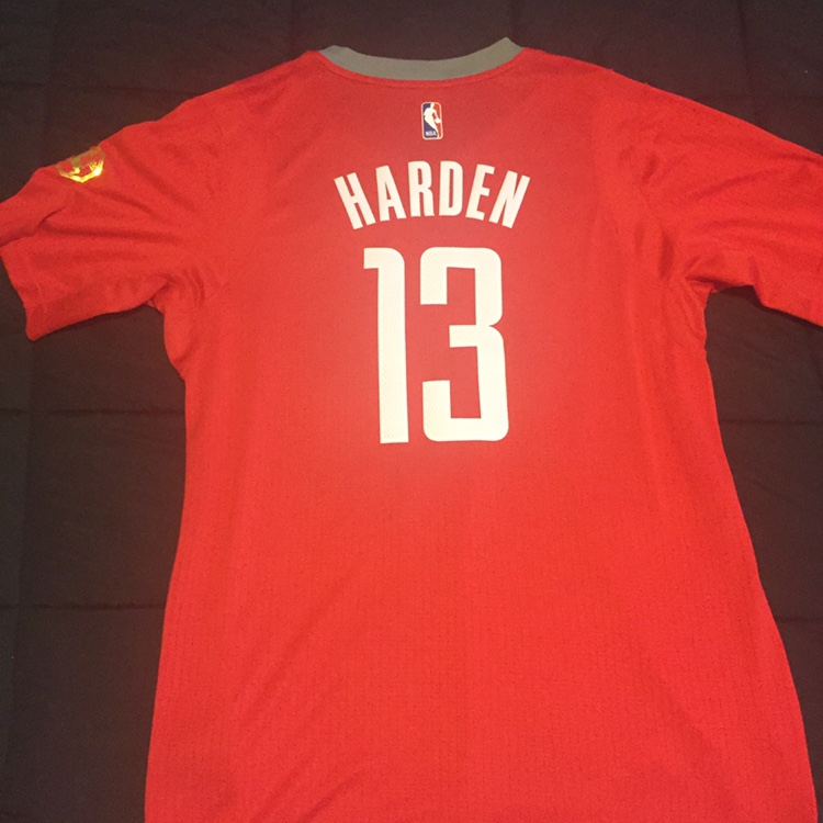 new style ca0ee 1530d James Harden Rockets city series jersey. With... - Depop