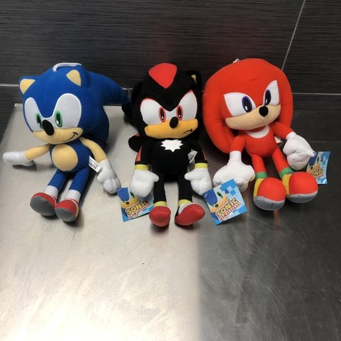 This Is Bundle Of Sonic The Hedgehog Shadow And Knuckles 12 Depop