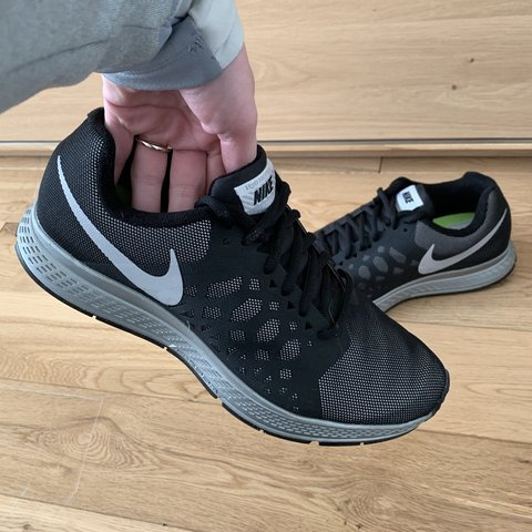 online store 67e3d 9d609  jayne040784. yesterday. Blackpool, United Kingdom. Nike men s Air Zoom  Pegasus 31 flash running trainers 683676 001. Colour - black reflective  silver