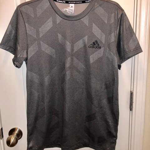 """c30020f9ba2c @skyyhiiibby. 3 months ago. Houston, United States. Adidas """"climalite dry  in every condition"""" material tee. Size men's small."""
