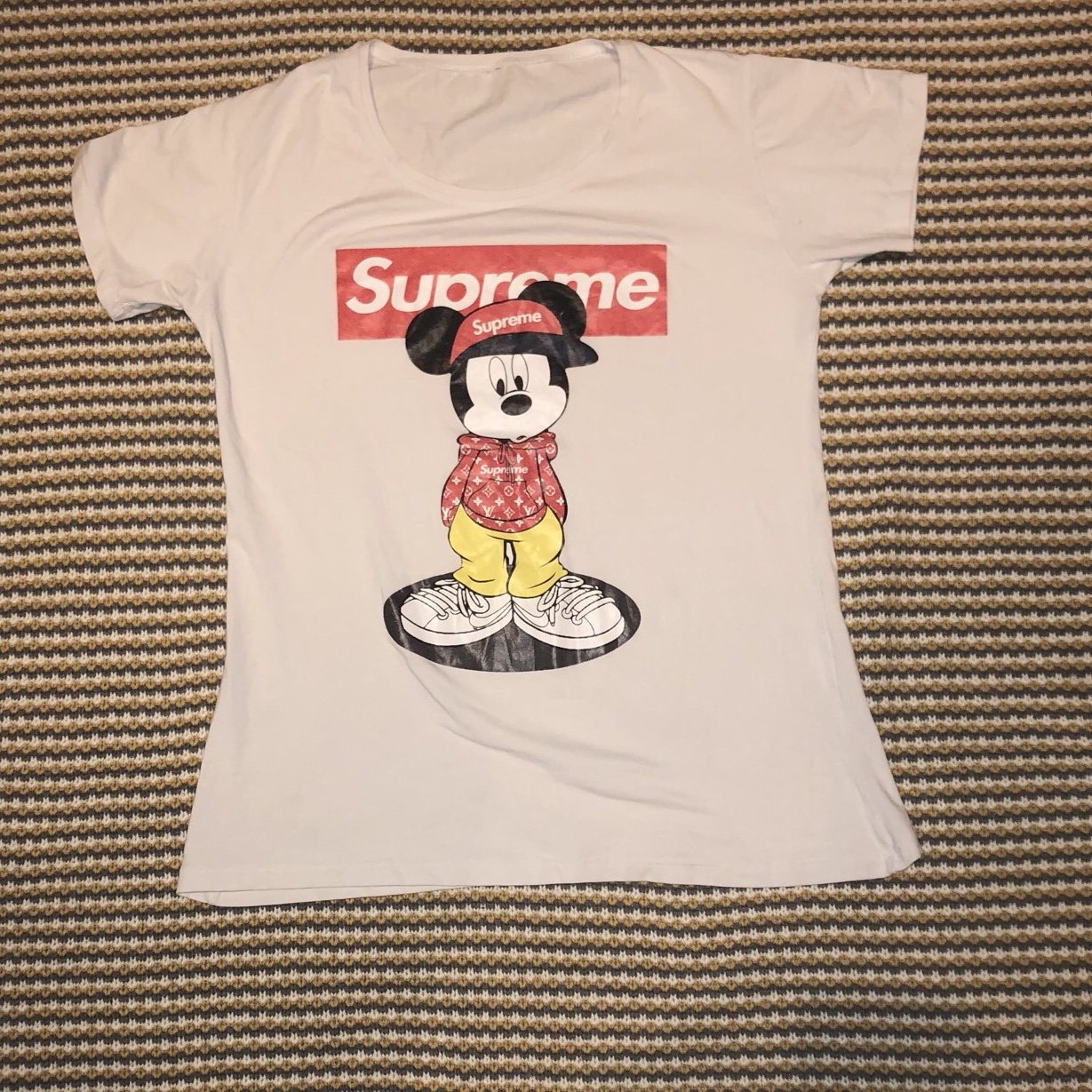 Mickey Mouse T Shirt No Size But Fits