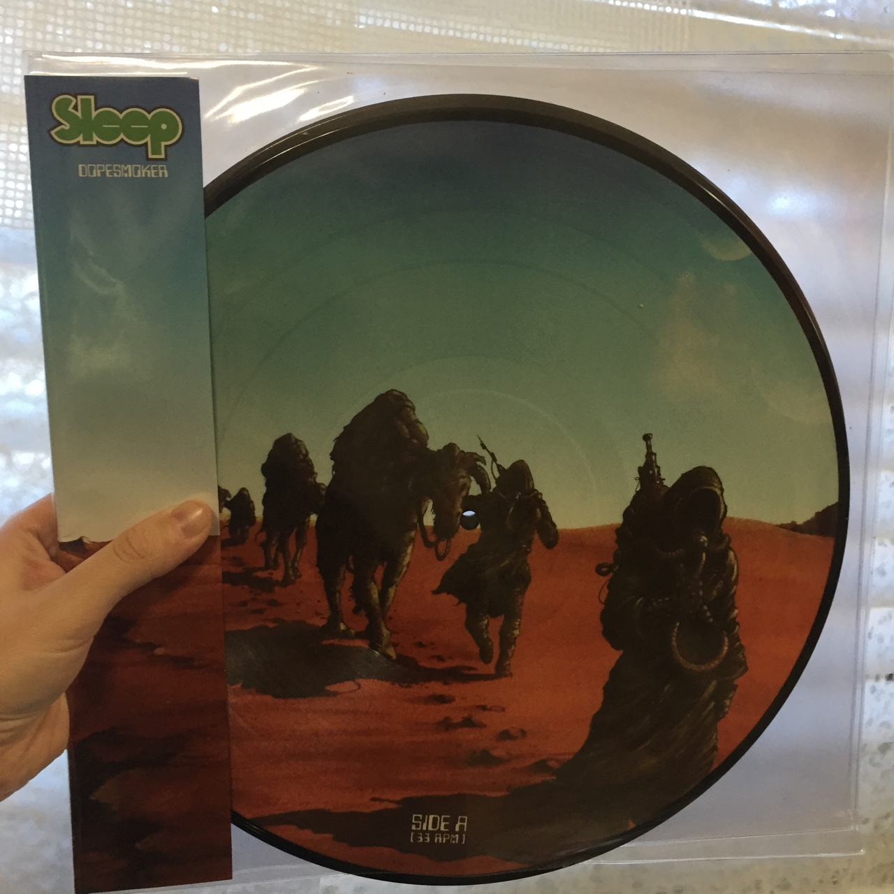 Sleep Dopesmoker Vinyl  Beautiful limited edition    - Depop
