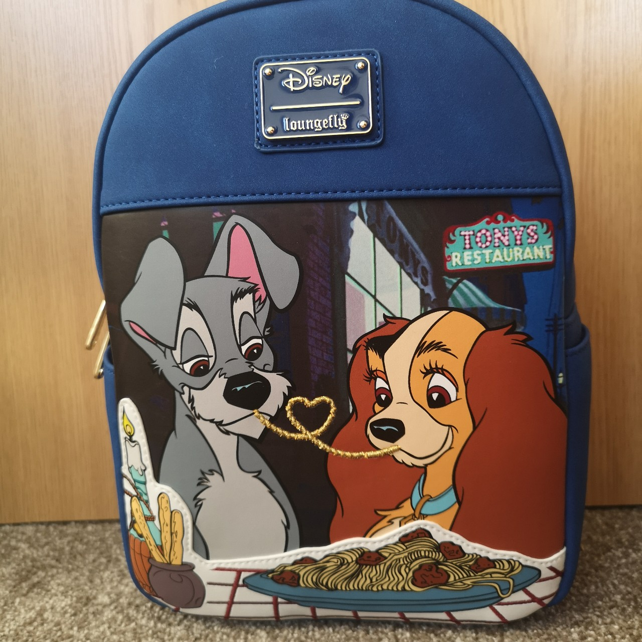 Disney Lady And The Tramp Loungefly Bag Bnwt Never Depop