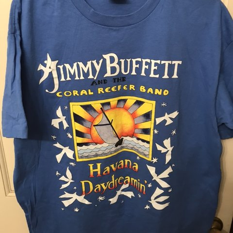2cfe93fa vintage rare Jimmy buffet and the coral reefer band Havana - Depop