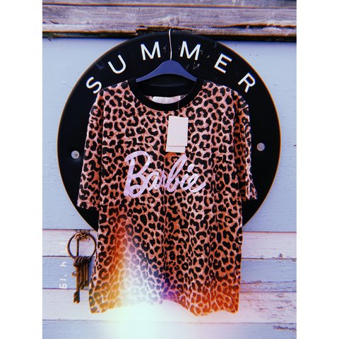 5c159dfd1e8c @ladypanic_x. last month. Staffordshire, United Kingdom. Limited edition leopard  print Barbie missguided top. Never been worn ...