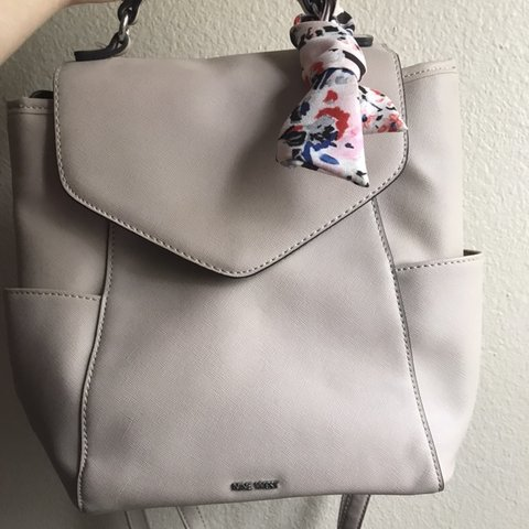 eb1779c79 @juliana_xoxo. 5 months ago. Palm Coast, United States. Creme/beige Medium  wise NINE WEST backpack bag ...