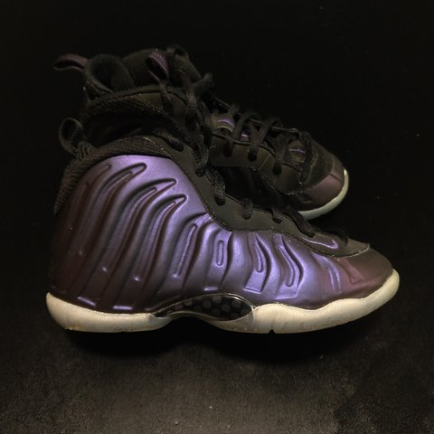 a2a04a474b7 Kids Nike Foamposite One Eggplant Sz 11.5c. These are in a - Depop