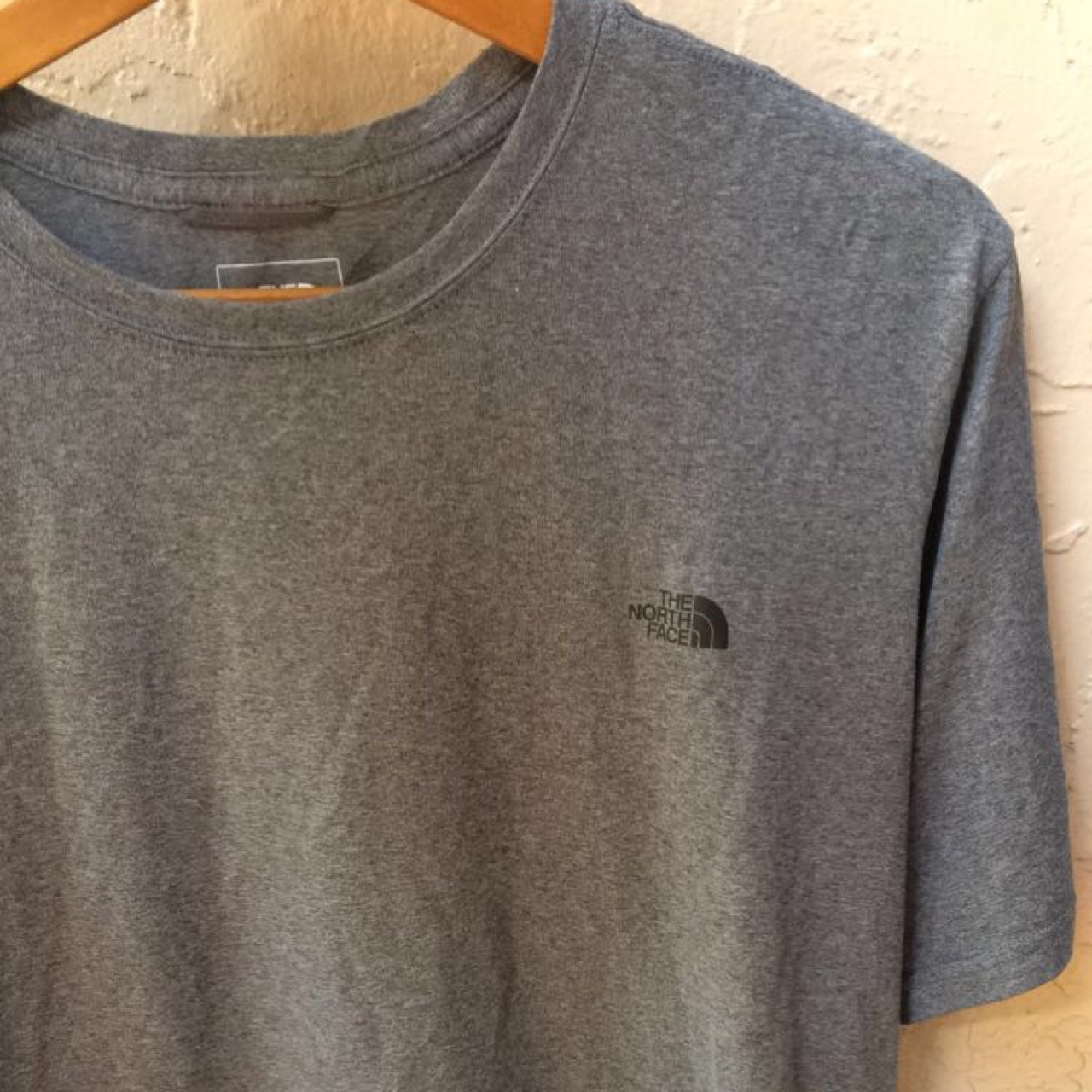 c057c5cce The North Face Mens Grey Shirt - loose dri fit like... - Depop