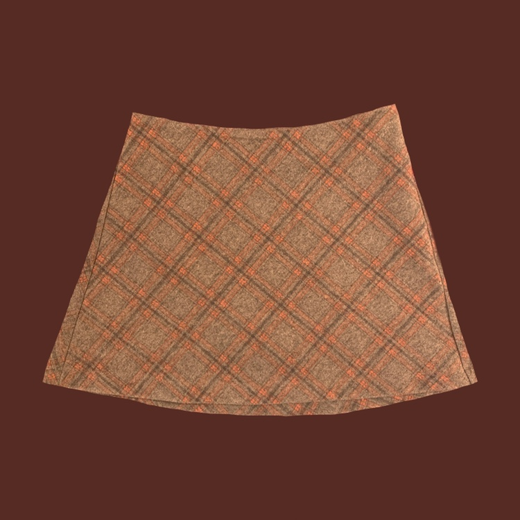 Vintage Plaid Mini Skirt 🧸  🧸 Fits Xs To Small  🧸 by Depop