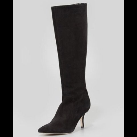 3a0f4eae9ccd Kate Spade Pointy Stretch Suede Knee Boot