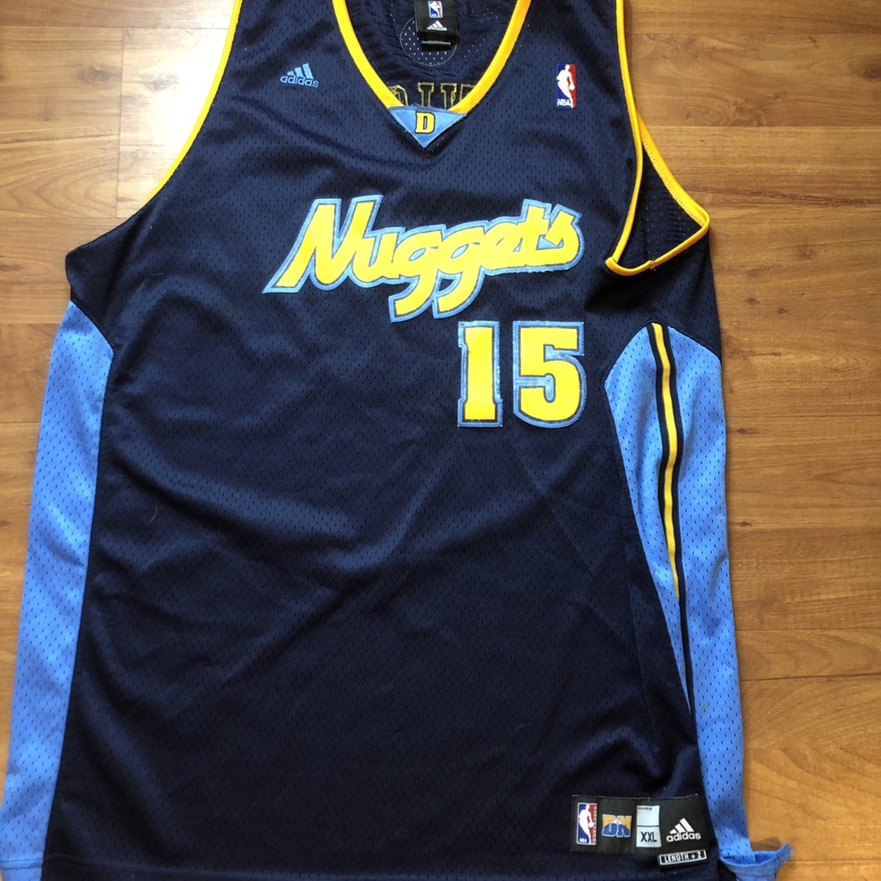 online store 9412b 83a09 sale old school denver nuggets jersey 67df2 be262