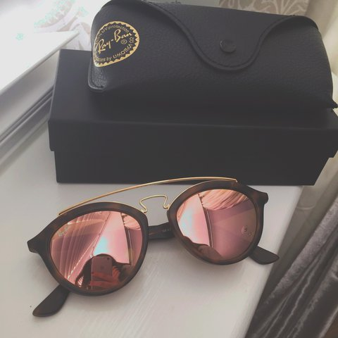 55bb7df222 Ray-Ban Gatsby II sunglasses with copper mirrored lens