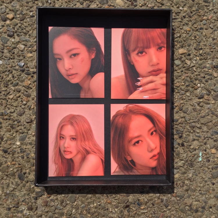blackpink kill this love album black version    - Depop