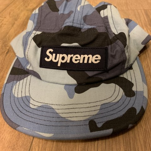 Street Rats Clothing 2 Months Ago Southsea United Kingdom Supreme Blue Camo Camp Cap
