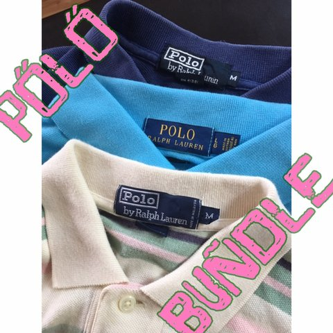 bff8779bc POLO RALPH LAUREN BUNDLE!!! 2 vintage 1 BRAND NEW WITH TAGS - Depop