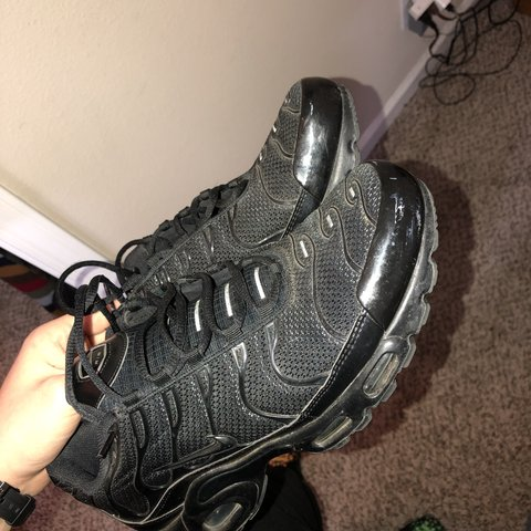 d4c953ff77 @turntrieclothes. 4 months ago. Fresno, United States. NIKE AIR MAX PLUS TN  ALL BLACK ...