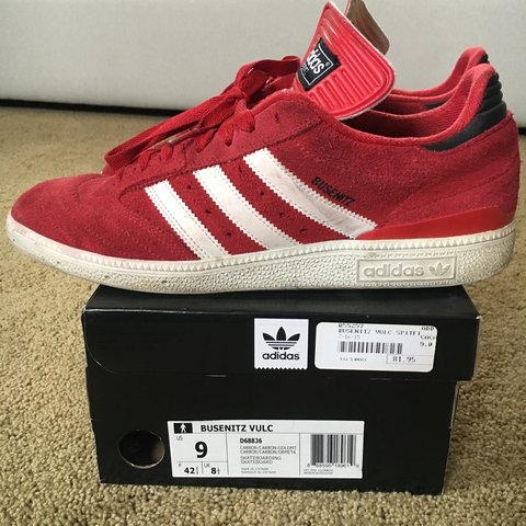separation shoes 6d75d 51d1f  arme of beast. 4 days ago. Salinas, United States. Adidas skateboarding.  Busenitz pro university red white