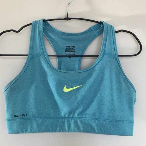 5e175c359b REDUCED! Nike Pro Dri-Fit sports bra. Worn a few times but - Depop