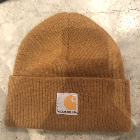 04a648895a6 Mint condition original Carhartt hat. Gently used. - Depop