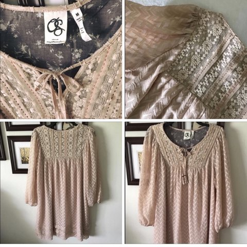 ff6281f2928f2 @cbrocs. in 4 hours. Smithville, United States. Anthropologie $198 One  September Peasant Dress