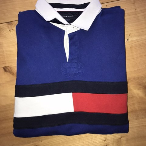 0459795493d @graciedigby. 17 days ago. Bournemouth, United Kingdom. TOMMY HILFIGURE  VERY RARE RUGBY TOP/JERSEY shirt jumper ...