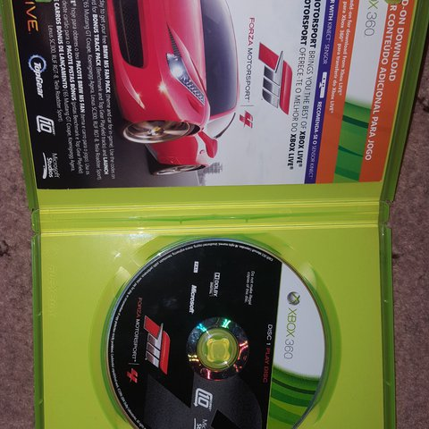 Forza Motorsport 4 for Xbox 360 Condition: Used - Depop