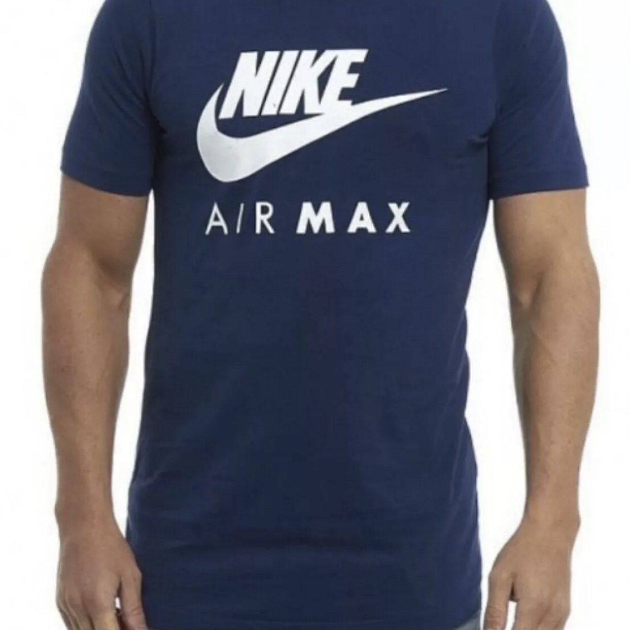 Nike New Men's Air Max Logo Crew Cotton T Shirt Tee All Size