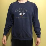 1a30b463 Vintage Disney Mickey Mouse & Co Oversized Spellout in Pine - Depop