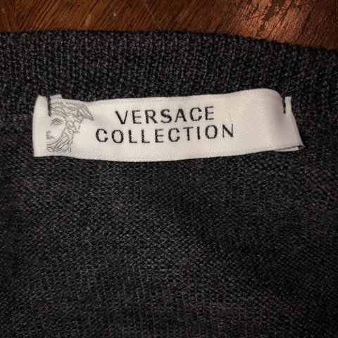 5d8f934c290 VERSACE sweater. Almost-perfect condition. Fits Men s 100% - Depop